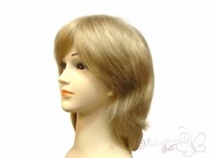 Peruka z włosów naturalnych pełna krótka