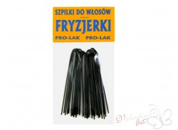 Szpilki do włosów FRYZJERKI niekarbowane 20szt. czarne
