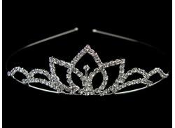Diadem ślubny/ korona bez grzebyków