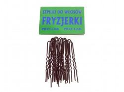 Szpilki do włosów FRYZJERKI 20szt. brązowe