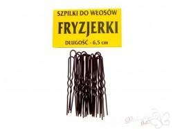 Szpilki do włosów FRYZJERKI 65mm 20 szt. brązowe