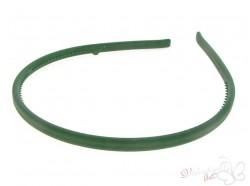 Opaska kauczukowa klasyczna zielona ciemna
