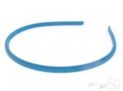 Opaska kauczukowa klasyczna niebieska