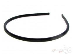 Opaska kauczukowa klasyczna czarna
