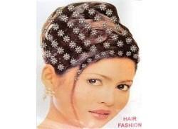 Naklejki do włosów HAIR FASHION kwiatki srebrne