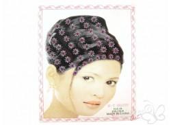 Naklejki do włosów HAIR DECOR kwiatki fuksja